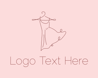 Delicate - Fashion Dress logo design