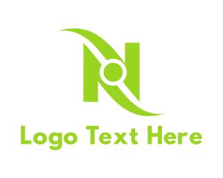 Letter N - Tech Letter N logo design