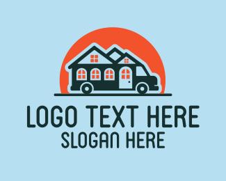 Tiny Home - Mobile Motor Home  logo design