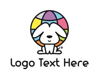 World - Dog World logo design