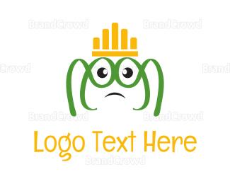 No - Frog King logo design