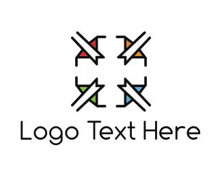 Biotech - Elegant Cross logo design