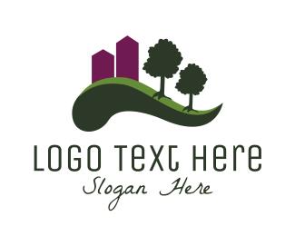 Town - City Park logo design