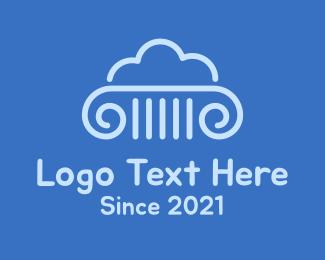 Law - Cloud Law logo design