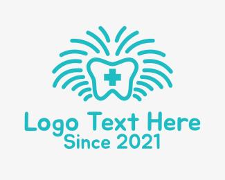 Orthopedic - Blue Medical Dentist logo design