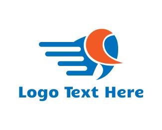 Buffalo - Fast Animal logo design
