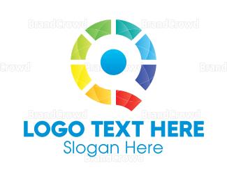 Branding - Colorful Letter Q logo design