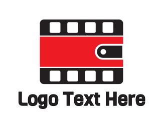 Film - Wallet Films logo design