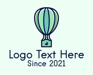 Hot Air Balloon Photography logo design