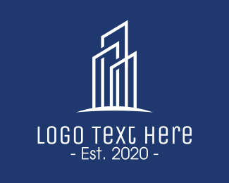 Architecture - Elegant Corporate Tower logo design