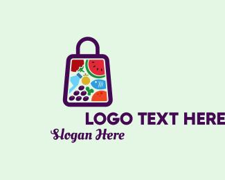 Market - Food Shopping Market logo design