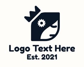 Beauty - Princess Flower logo design