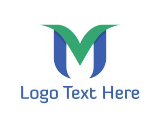 Letter - Abstract Letter M logo design