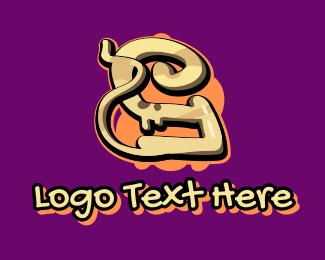 Graffiti - Graffiti Art Letter Y logo design