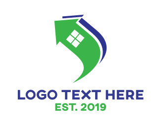 Home Services - Arrow House logo design