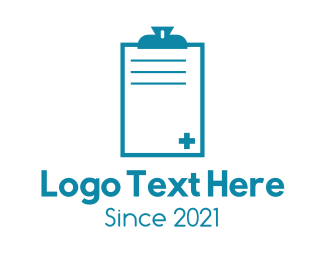 Logbook - Medical Record Logbook  logo design