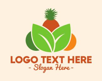 Tropical - Tropical Fruits logo design
