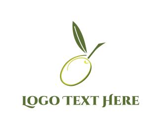 Supermarket - Green Olive logo design