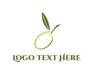 Grape - Green Olive logo design