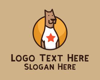 Nose - Great Dane Dog Mascot logo design