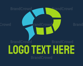 Chat - Brain Chat logo design