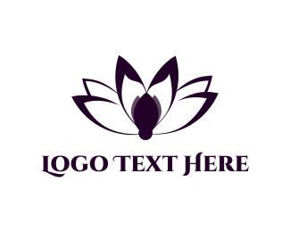 Zen - Lotus Blossom logo design