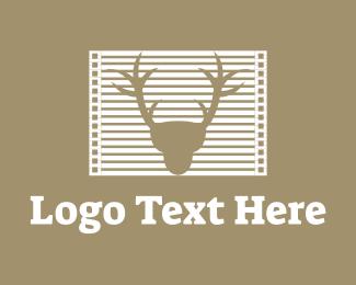Frame - Deer Frame logo design