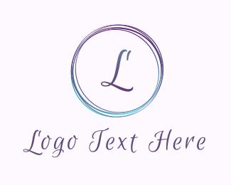 Glamour - Gradient M Circle logo design