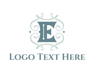 Edinburgh - Classic Letter E logo design