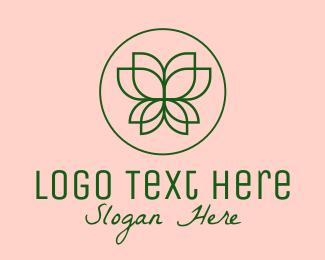 Spa - Spa Lotus Flower logo design