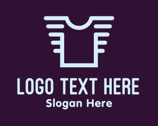Garment - Plain Shirt logo design