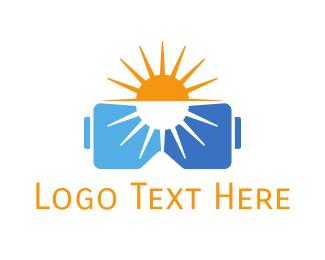 Summer - Summer VR  logo design