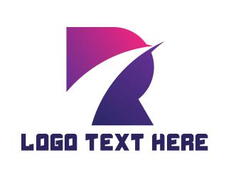 Galaxy - Bold R Gaming logo design
