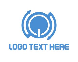 Flip - Blue Power logo design