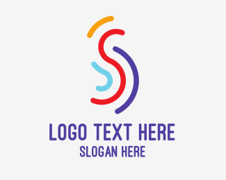 Club - Multi Color S logo design