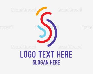 Activity - Multi Color S logo design
