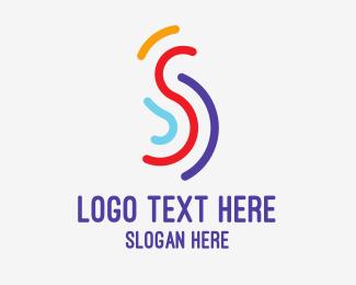 Cardio - Multi Color S logo design