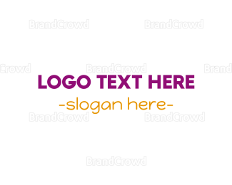 Casual - Modern  & Casual logo design