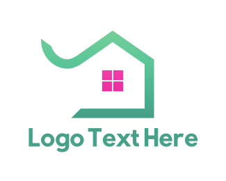 Green And Pink - Mint House logo design