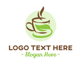 Tea - Tea Coffee Cup  logo design