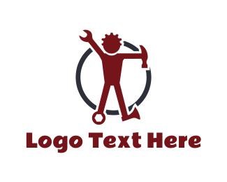 Tools - Tool Man logo design