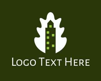 Timber - Oakwood Tower logo design