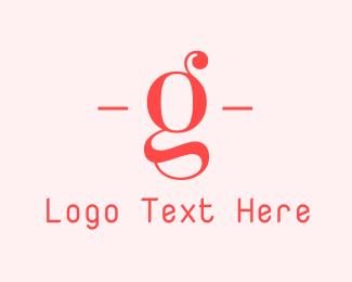 """""""Feminine Letter G"""" by BrandCrowd"""