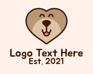 Kids Apparel - Bear Heart Kids Apparel  logo design