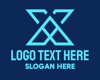Letter X - Tech Letter X logo design