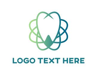 Molecule - Dental Science logo design