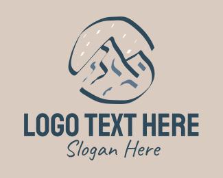 Outdoor Gear - Mountain Peak Outdoor logo design