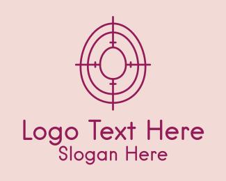 Egg Hunt - Easter Egg Target  logo design