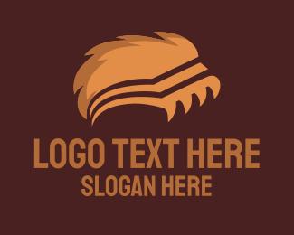 Claw - Wild Book logo design
