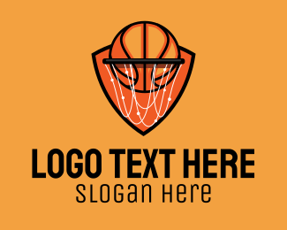 Basketball Court - Basketball Hoop logo design